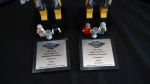 Trophies at the 2012 Desert Cities FIRST LEGO League Qualifying Tournament